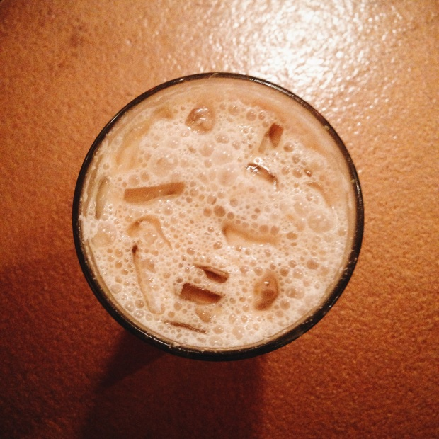iced parisienne latte